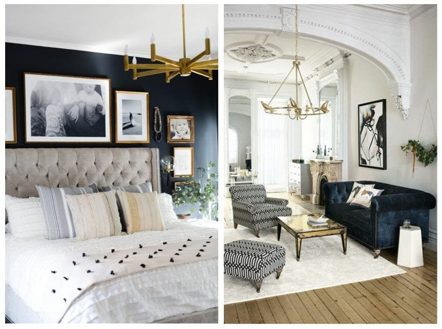 winter design trends brass lighting