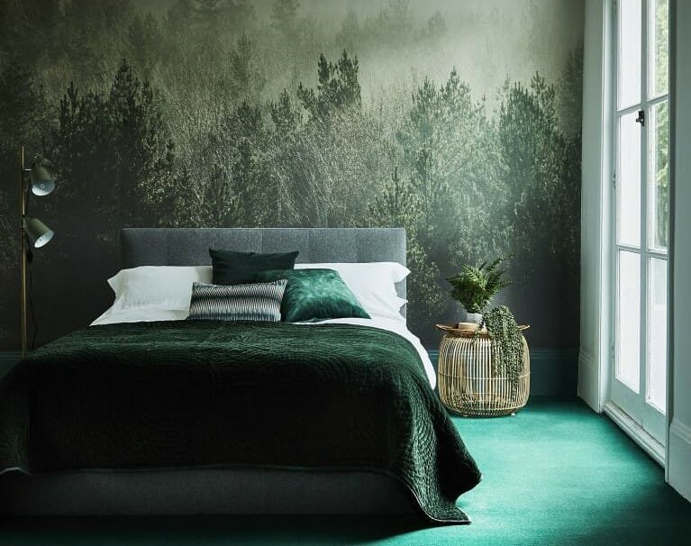 winter design trends green 2