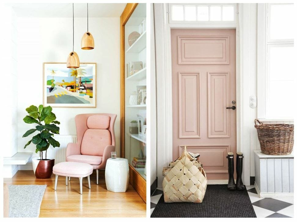 winter design trends millennial pink