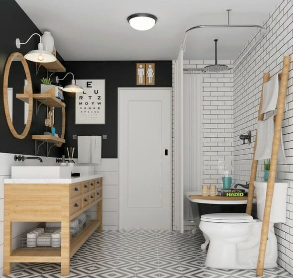 Francis D. bathroom design