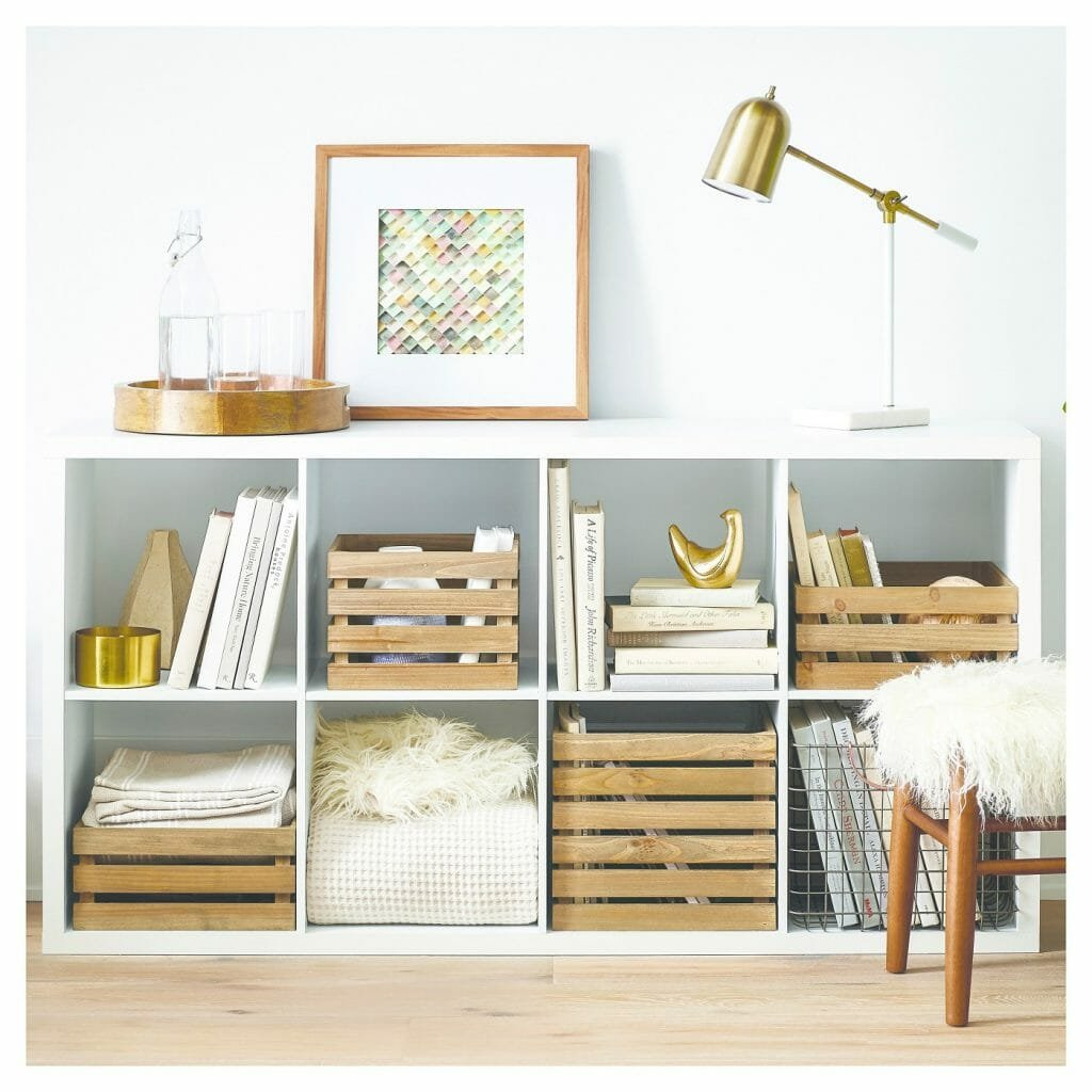 how to organize your home- entry table