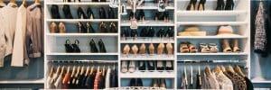 walk-in closet design California closets