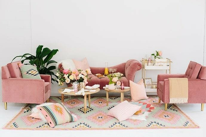 How to Incorporate Pink Decor into your home all pink