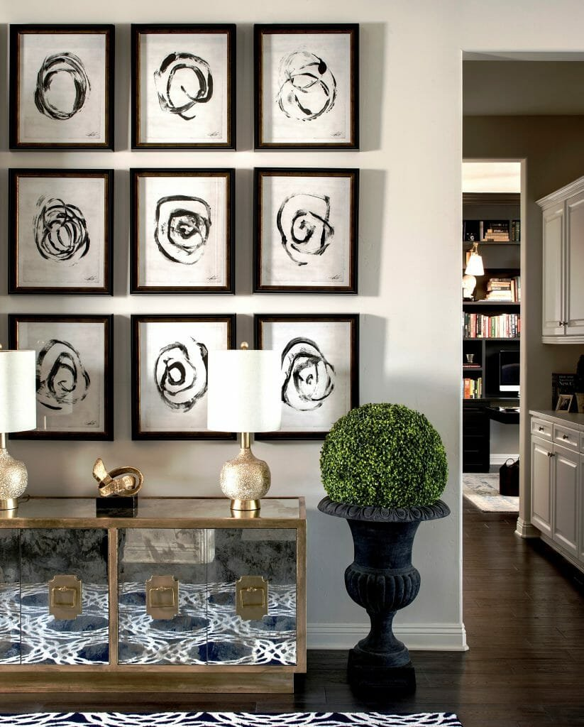 gallery wall ideas corine