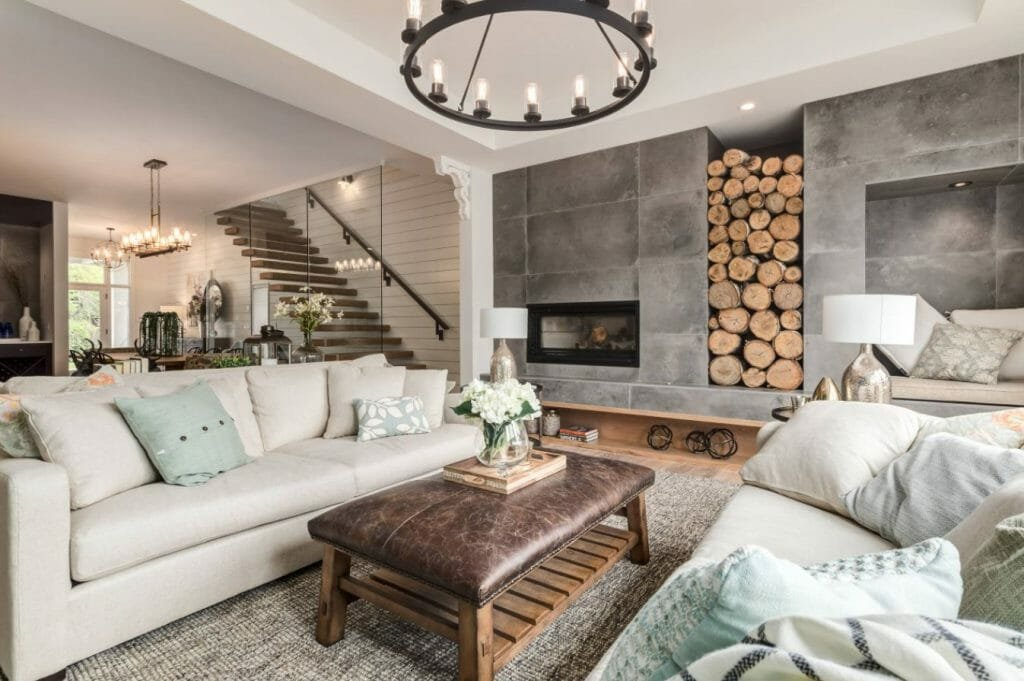rustic chic online interior design