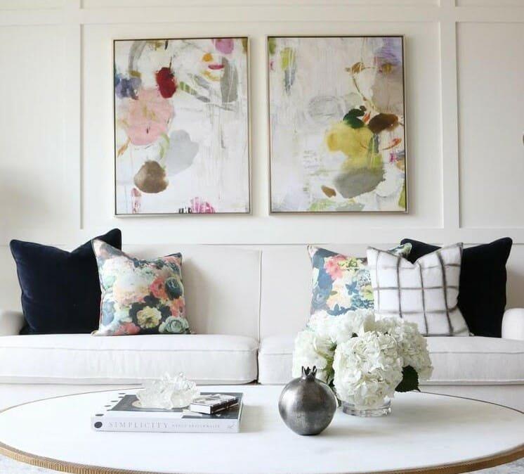 spring interior design floral