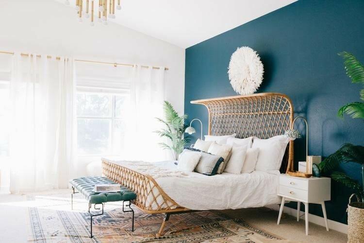 spring interior design trends bedroom