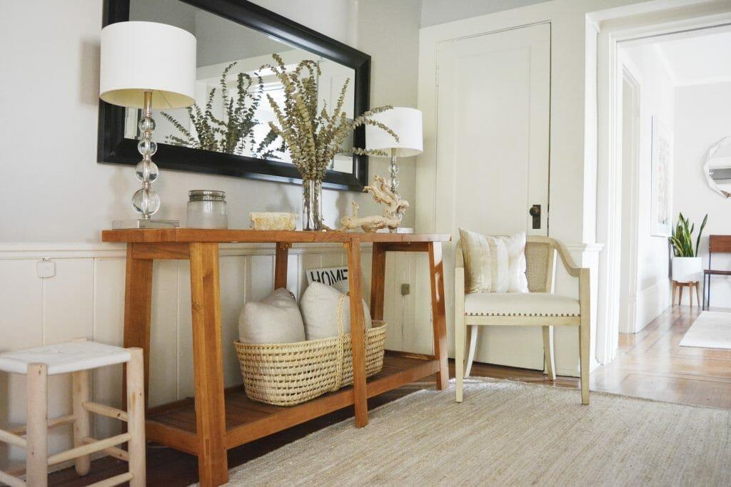 spring interior design trends texture entry