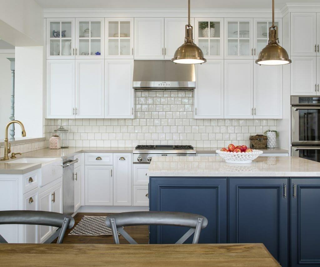 13_glass door kitchen cabinets