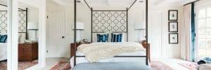 bedroom color schemes vintage rug