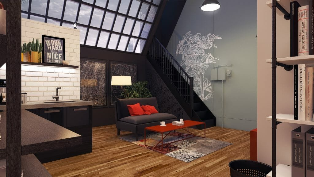 contemporary office interior design service