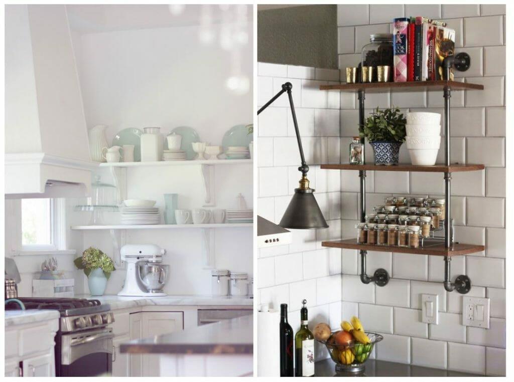 kitchen open shelving 6