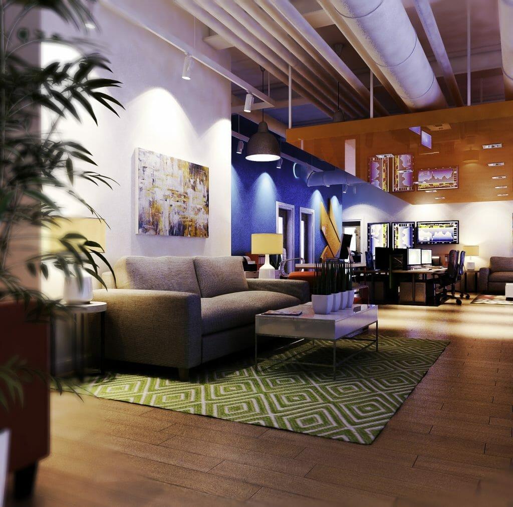 small office interior design service