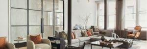 contemporary living room nyc interior design