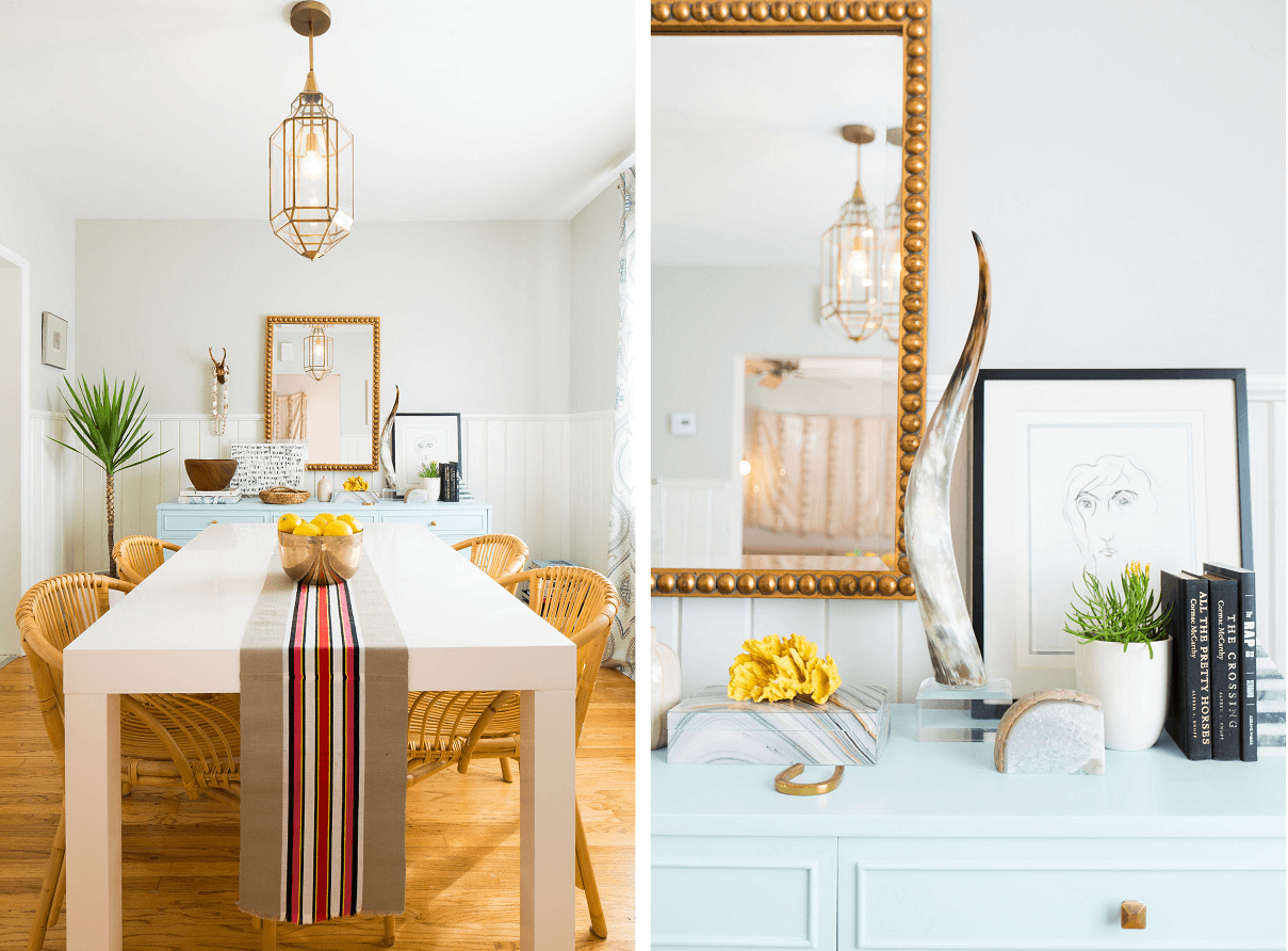 eclectic interior design statement pieces and objects