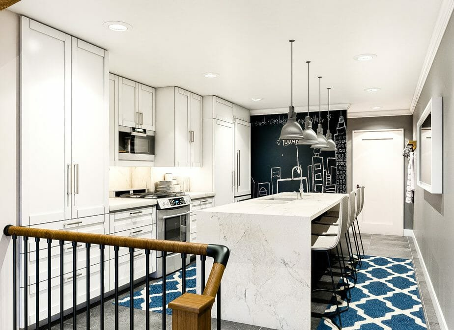 modern-kitchen-design-by-aldrin-c-with-blue-carpet-and-blackboard
