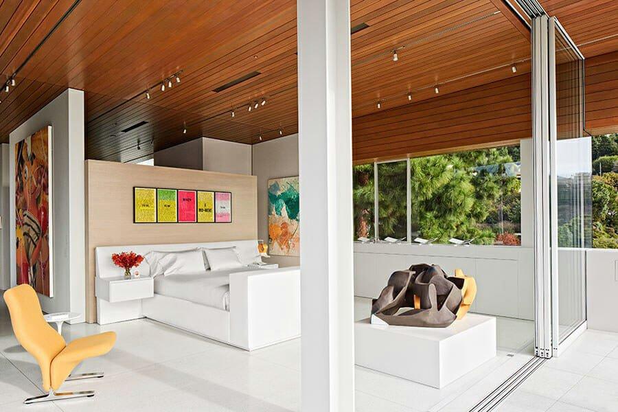 Interior design help with a contemporary interior bedroom