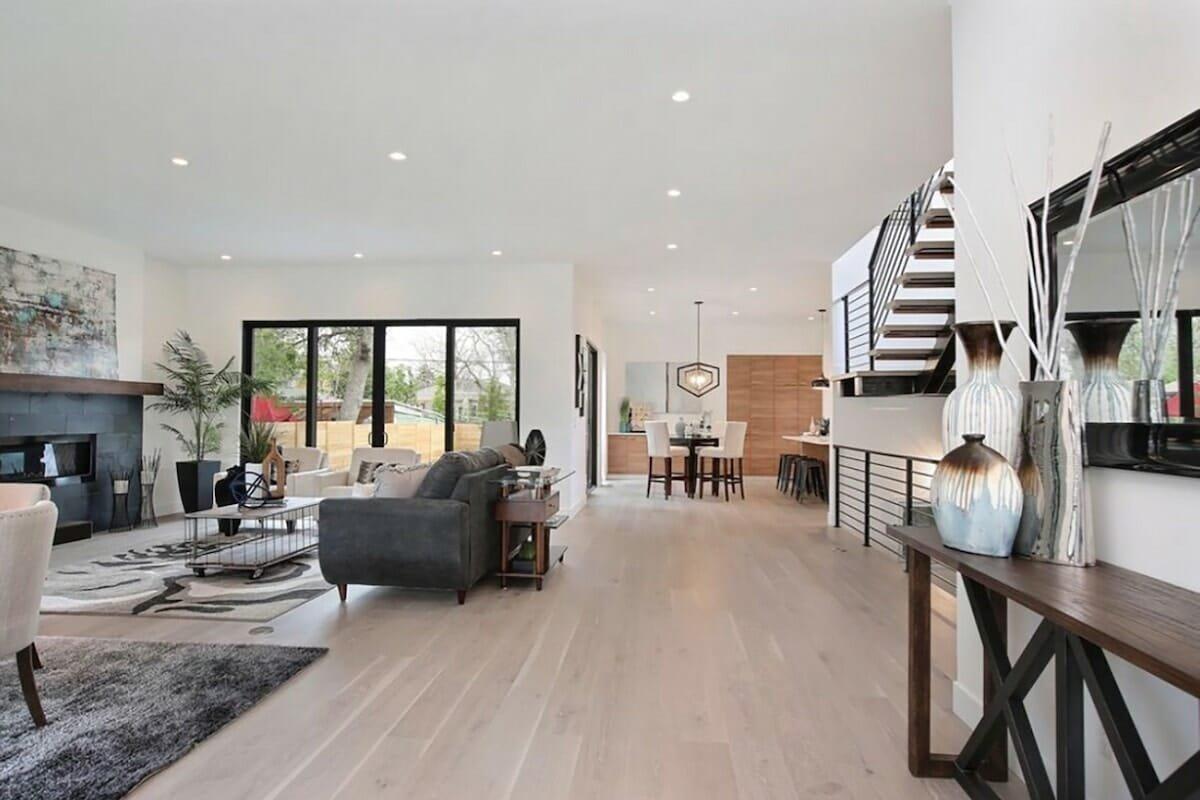 Luxury open concept home by top denver interior decorator margarita bravo
