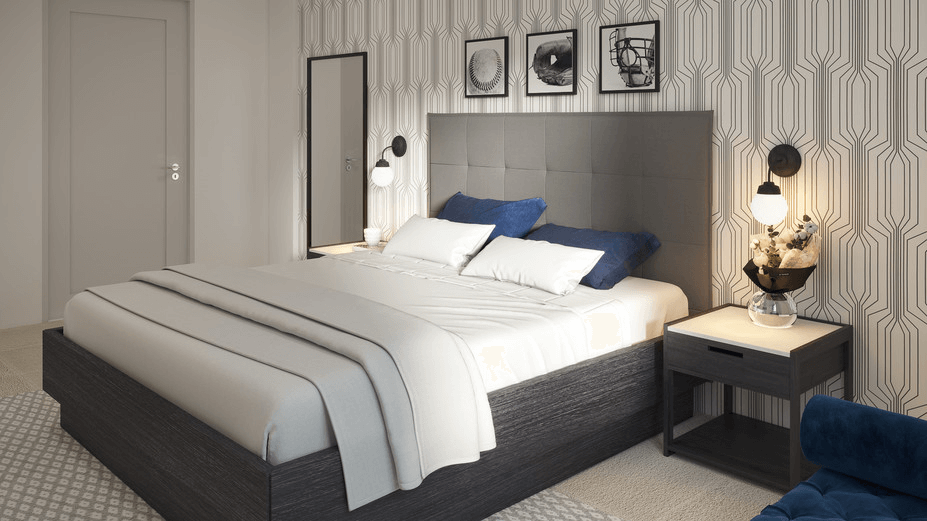 online bedroom design 3d model 2