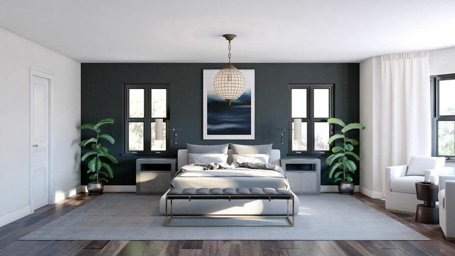 contemporary home design online bedroom