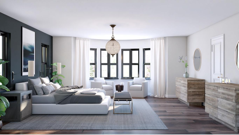 contemporary home design online bedroom