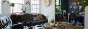 eclectic studio apartment online design