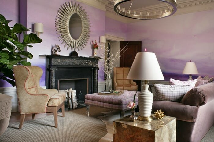 watercolors fall interior design trends