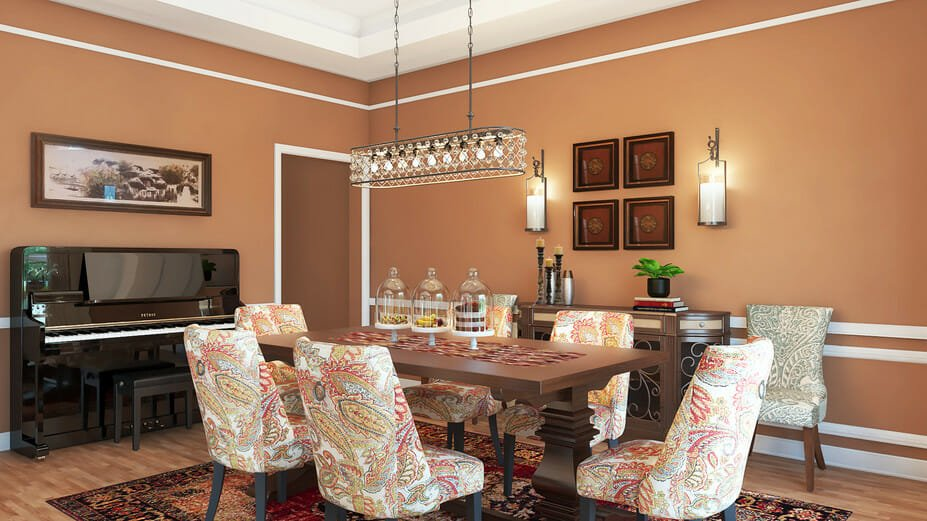 Rustic-mediterranean-with-asian-accents-dining-room traditional online living room design