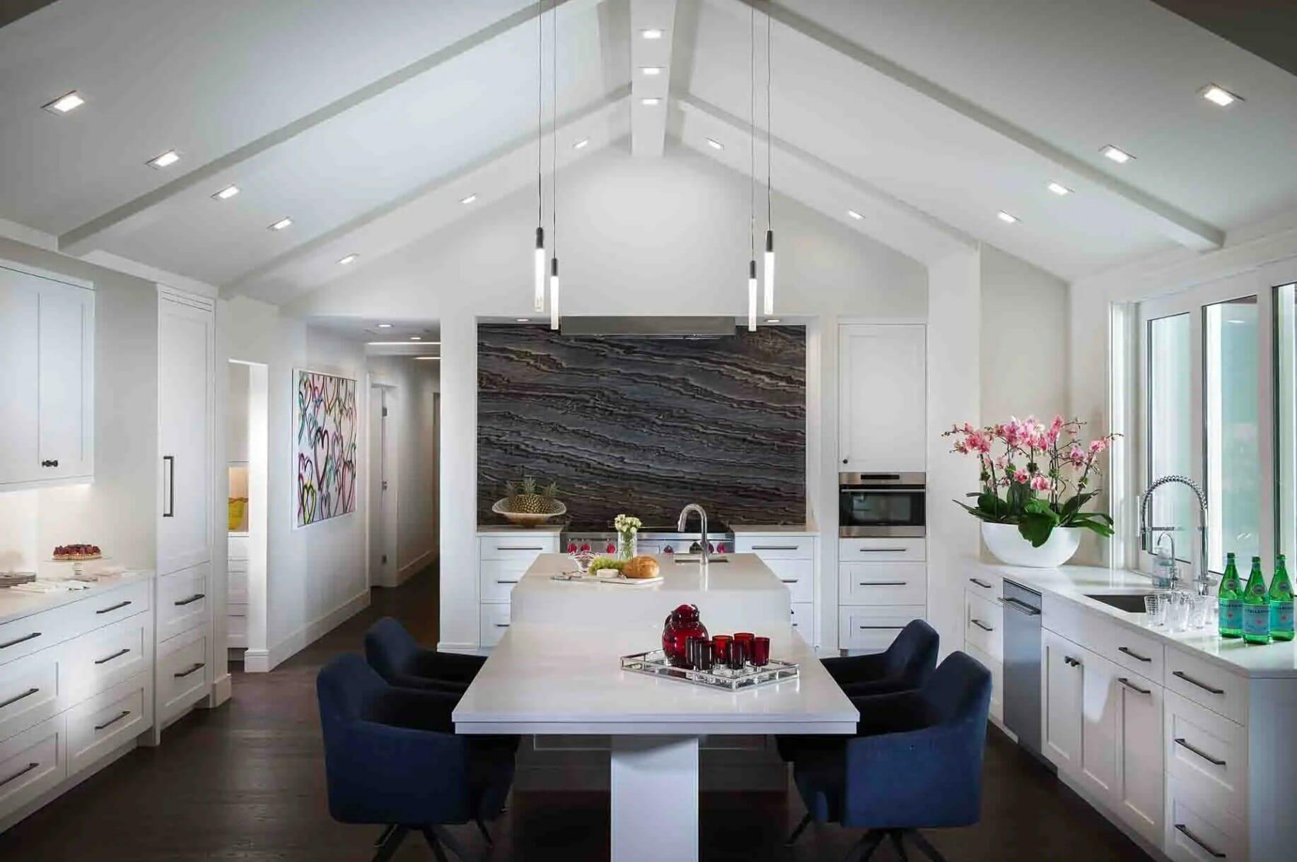 contemporary open living by Houzz interior designers orlando - robert turner