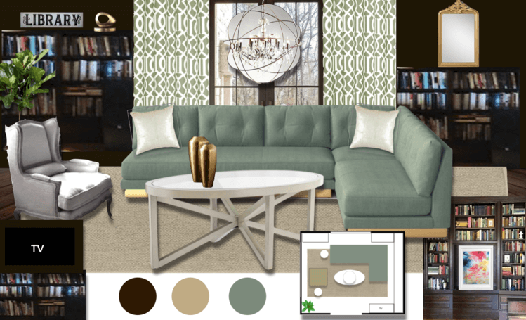 moodboard moody online library interior design