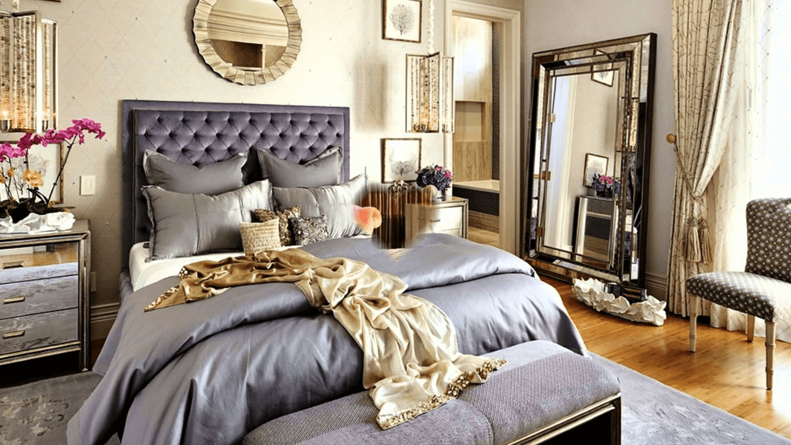 Before After Romantic Bedroom Online Interior Design Decorilla