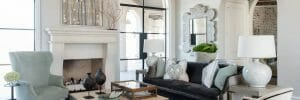 dallas interior designers - traci connell interiors - living room interior design