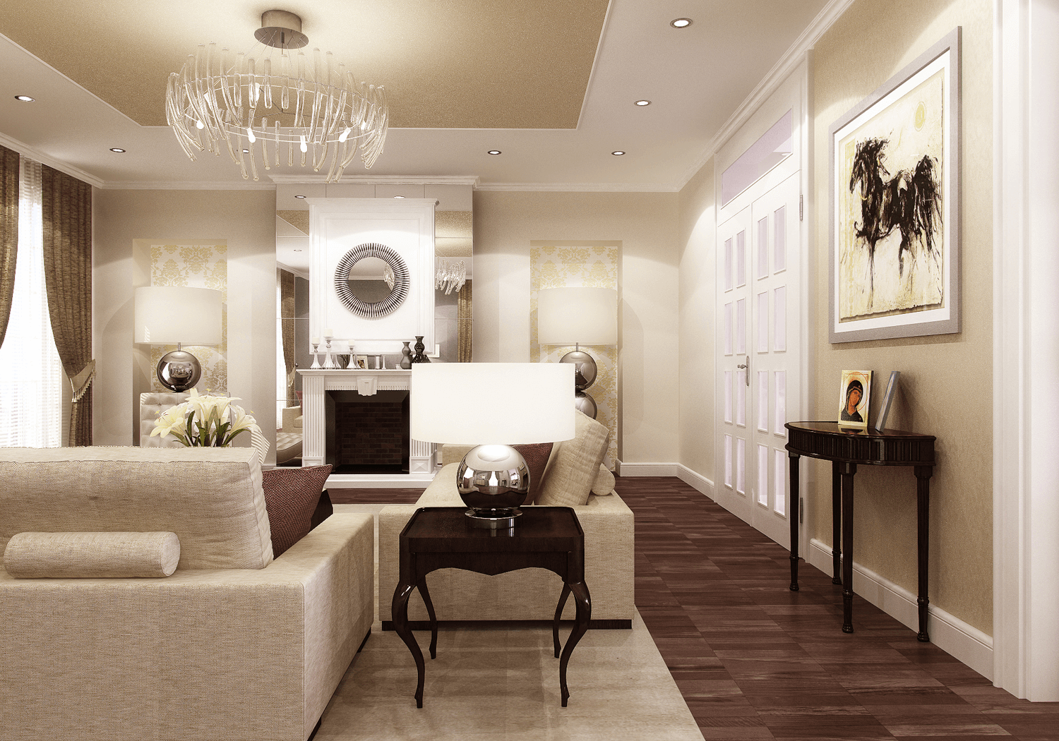 hire a traditional interior designer