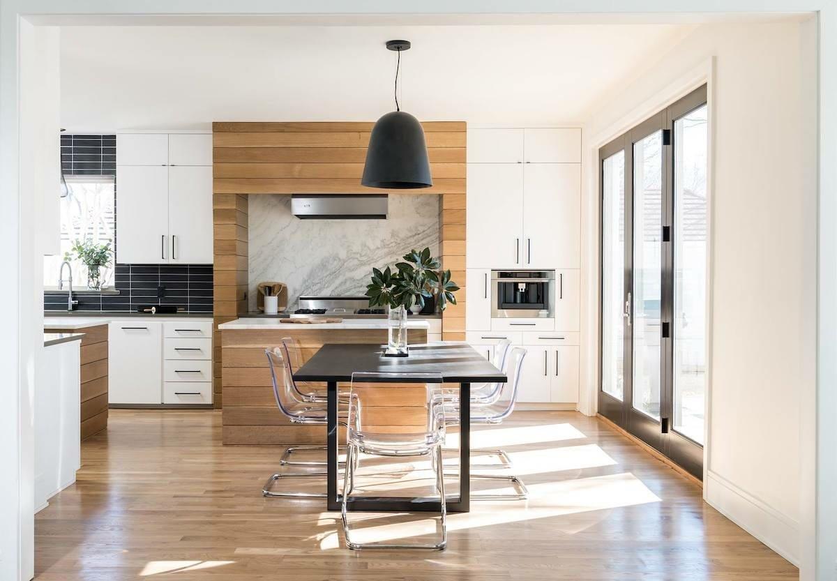 contemporary kitchen interior design dallas - traci connell