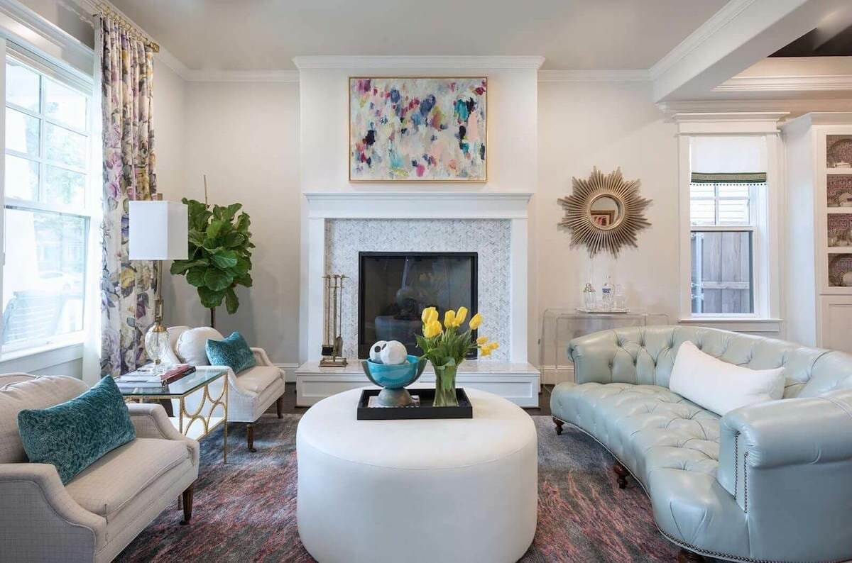 funky transitional living room by houzz interior designers dallas