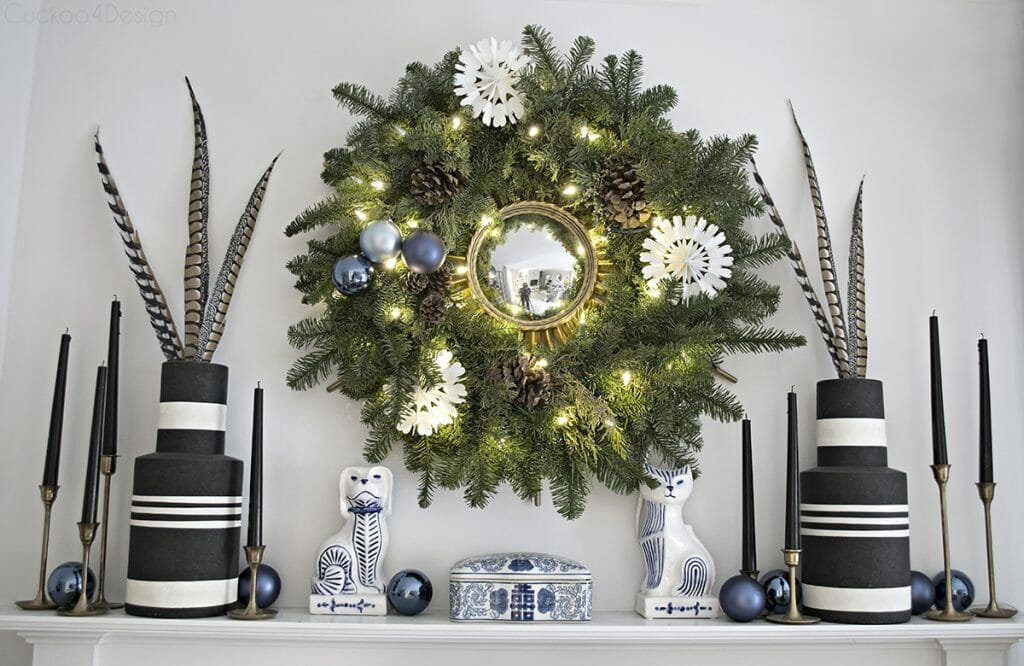 holiday decor trends blue decor