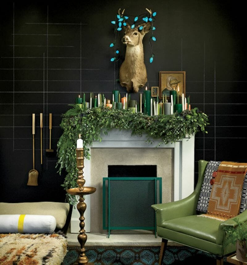 holiday decor trends candle