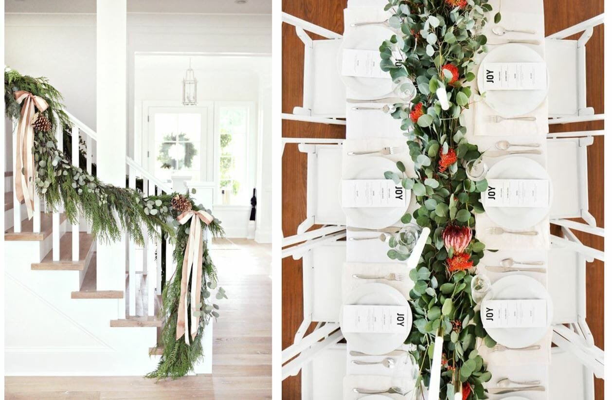 holiday decor trends garland