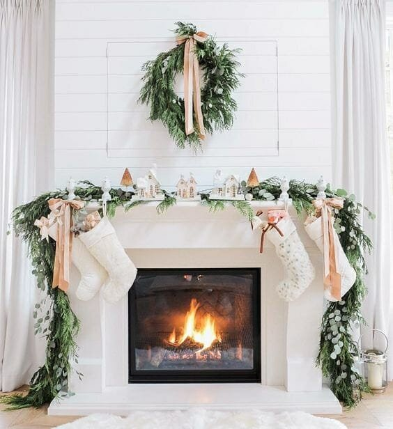 holiday decor trends greenery
