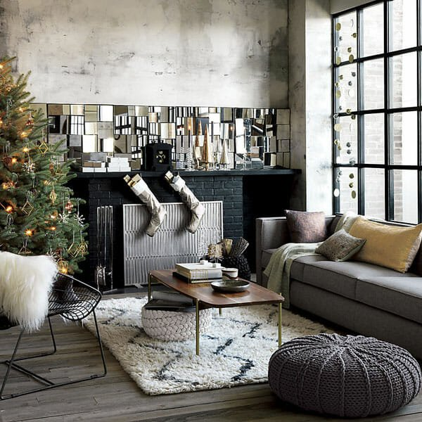 holiday decor trends minimal