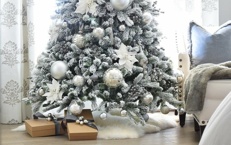 holiday decor trends sheepskin