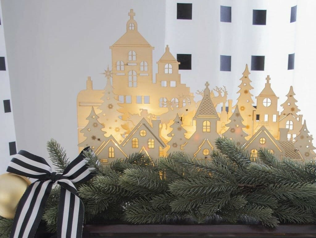 holiday decor trends village