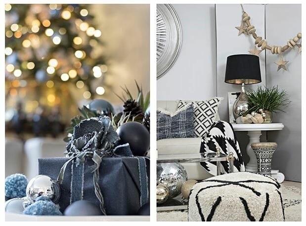 holiday decor trends winter color pallette