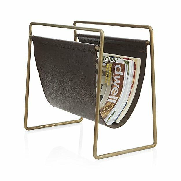 home decor gift ideas magazine rack