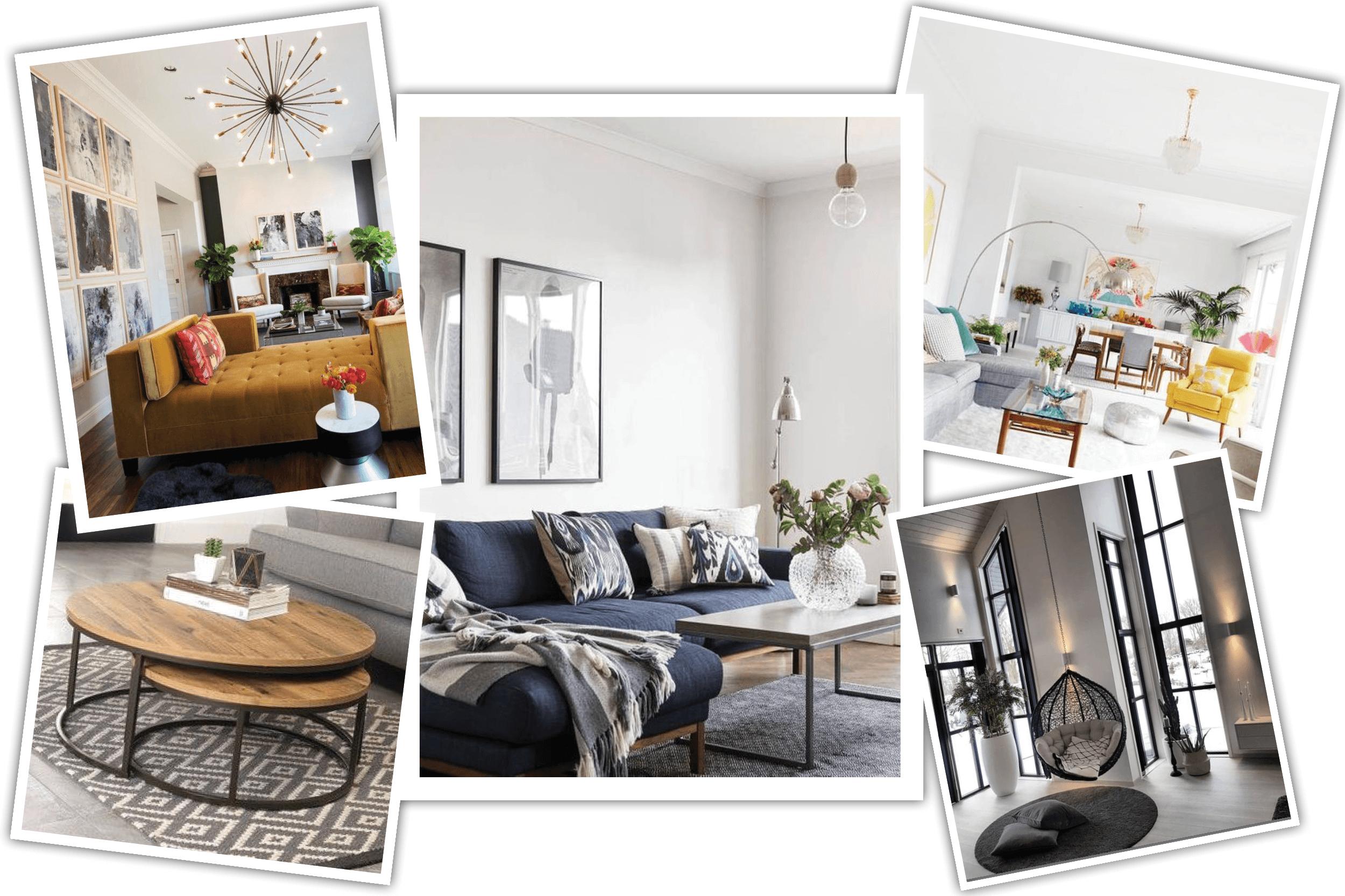 inspiration for modern living room interior design