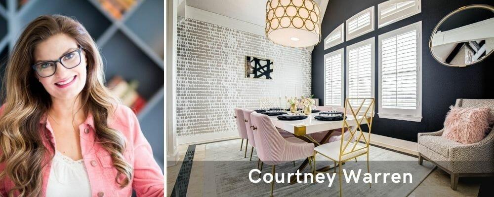 interior decorator dallas tx - courtney warren