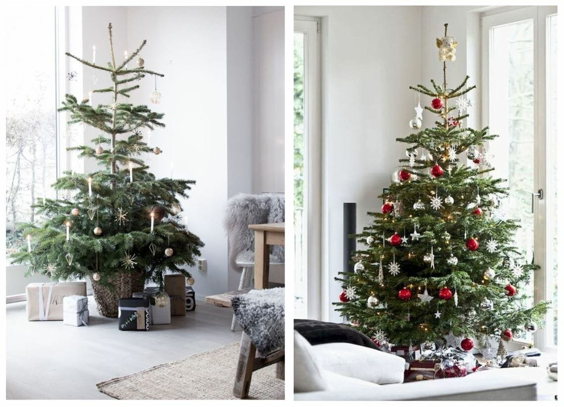 modern christmas tree ideas nordic