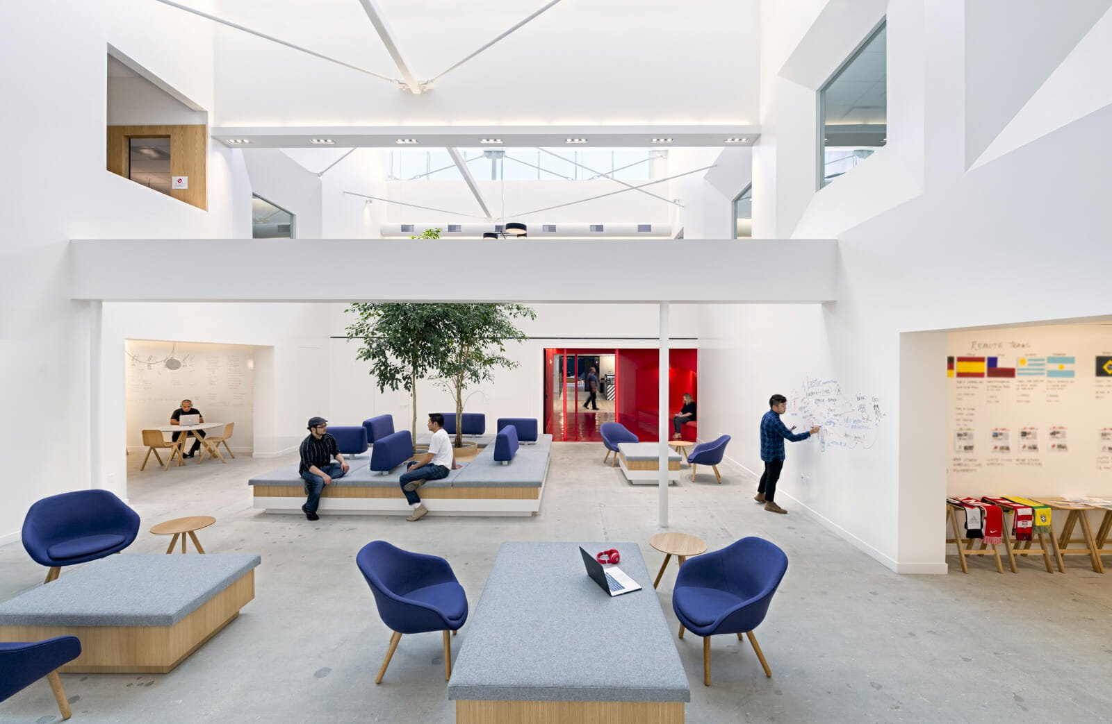 multipurpose office space modern interior design bestore architecture