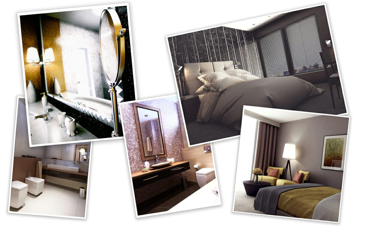 boutique hotel online interior design