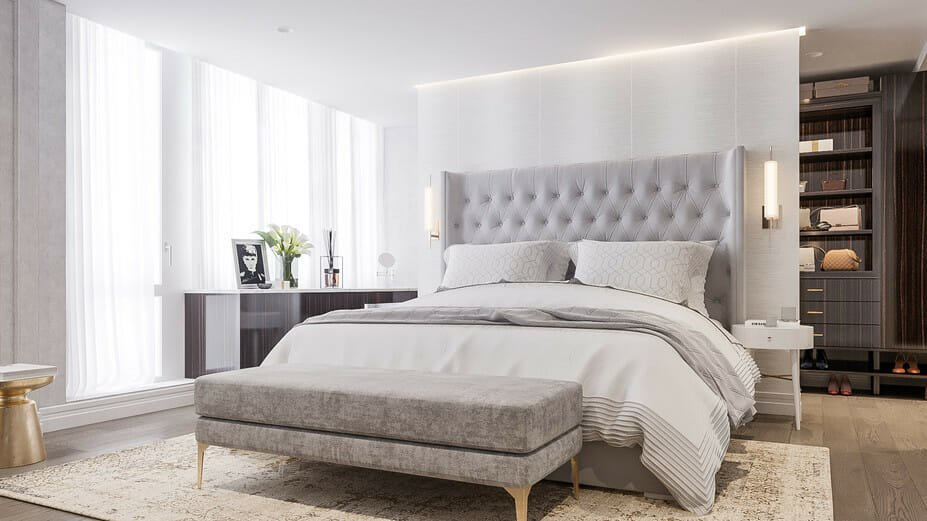 luxury apartment design online bedroom 2